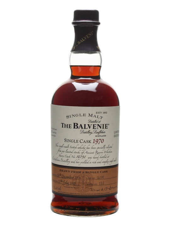 Balvenie 1970 / Sherry Cask #16191