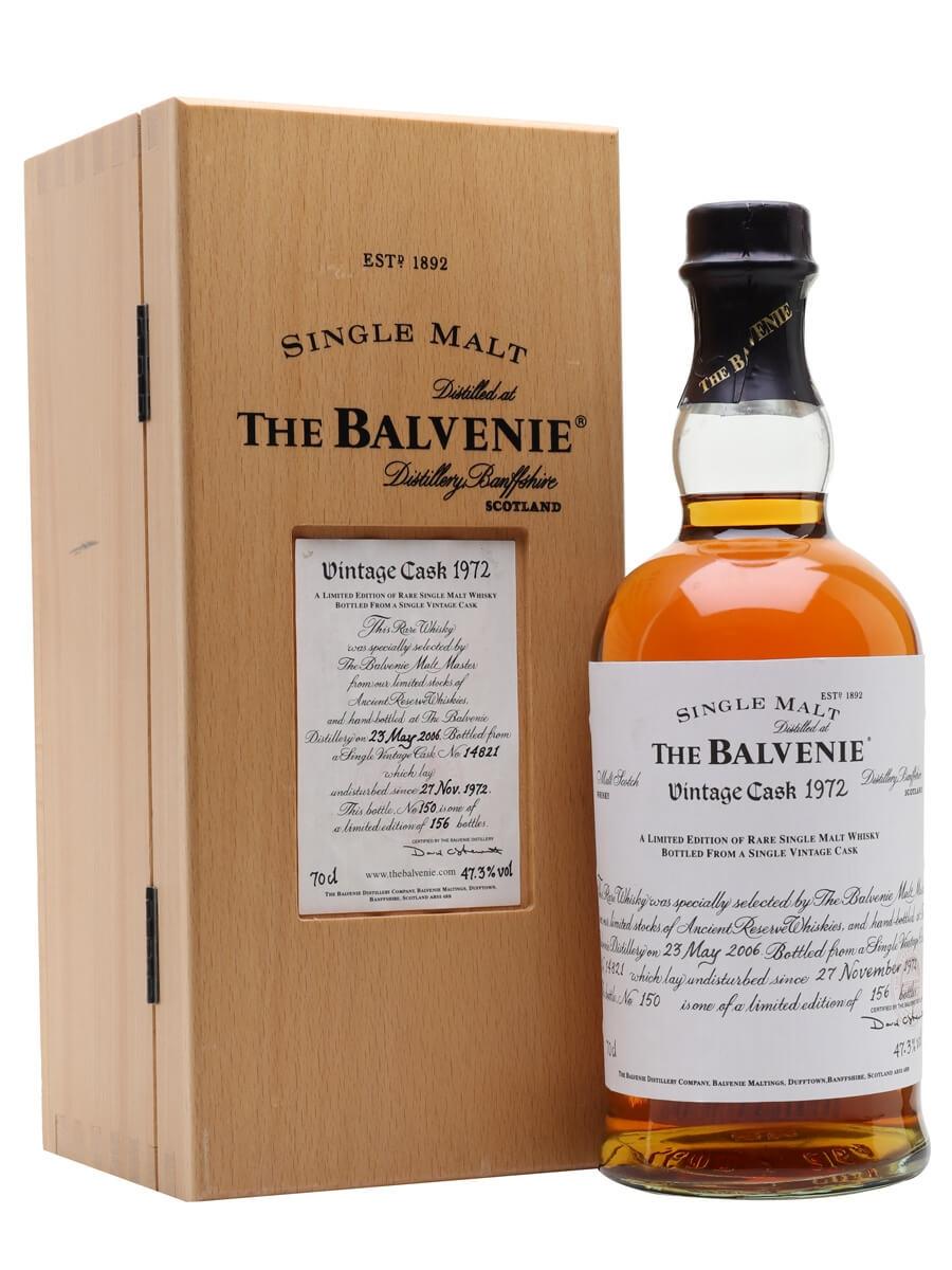Balvenie 1972 / 33 Year Old / Cask #14821