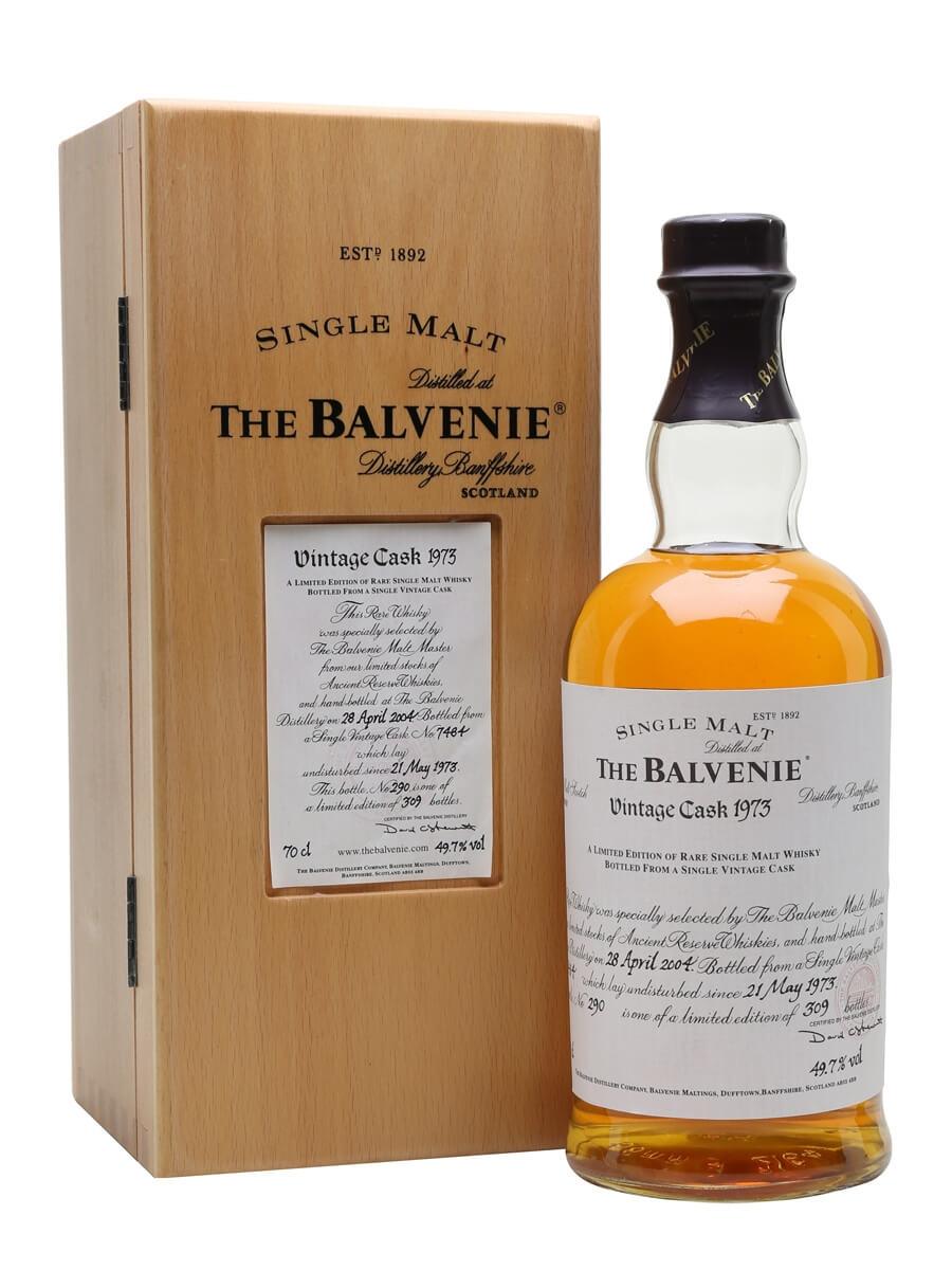 Balvenie 1973 / 30 Year Old / Cask #7484