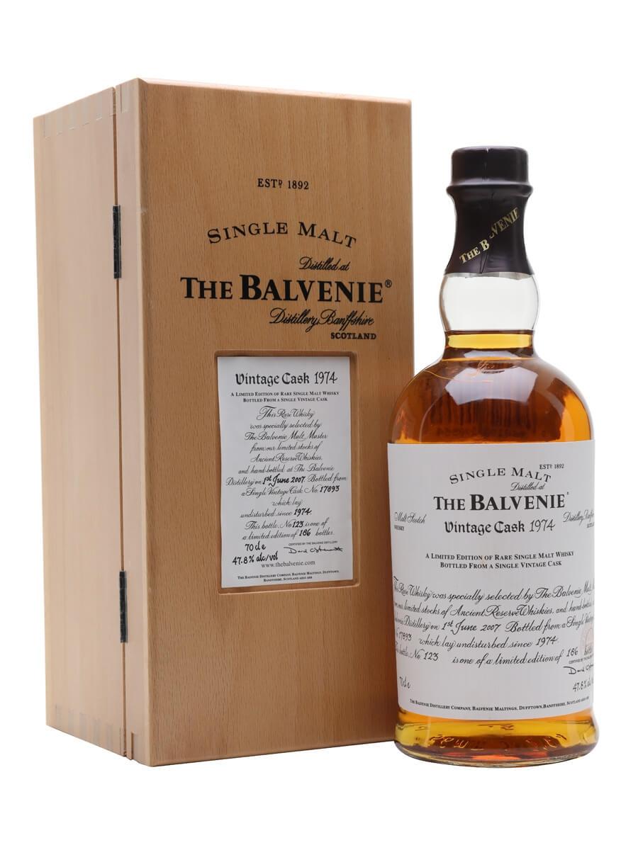 Balvenie 1974 / 33 Year Old / Cask #17893