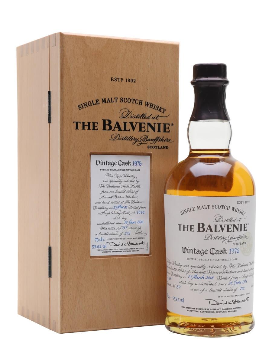 Balvenie 1976 / 31 Year Old / Cask #6568
