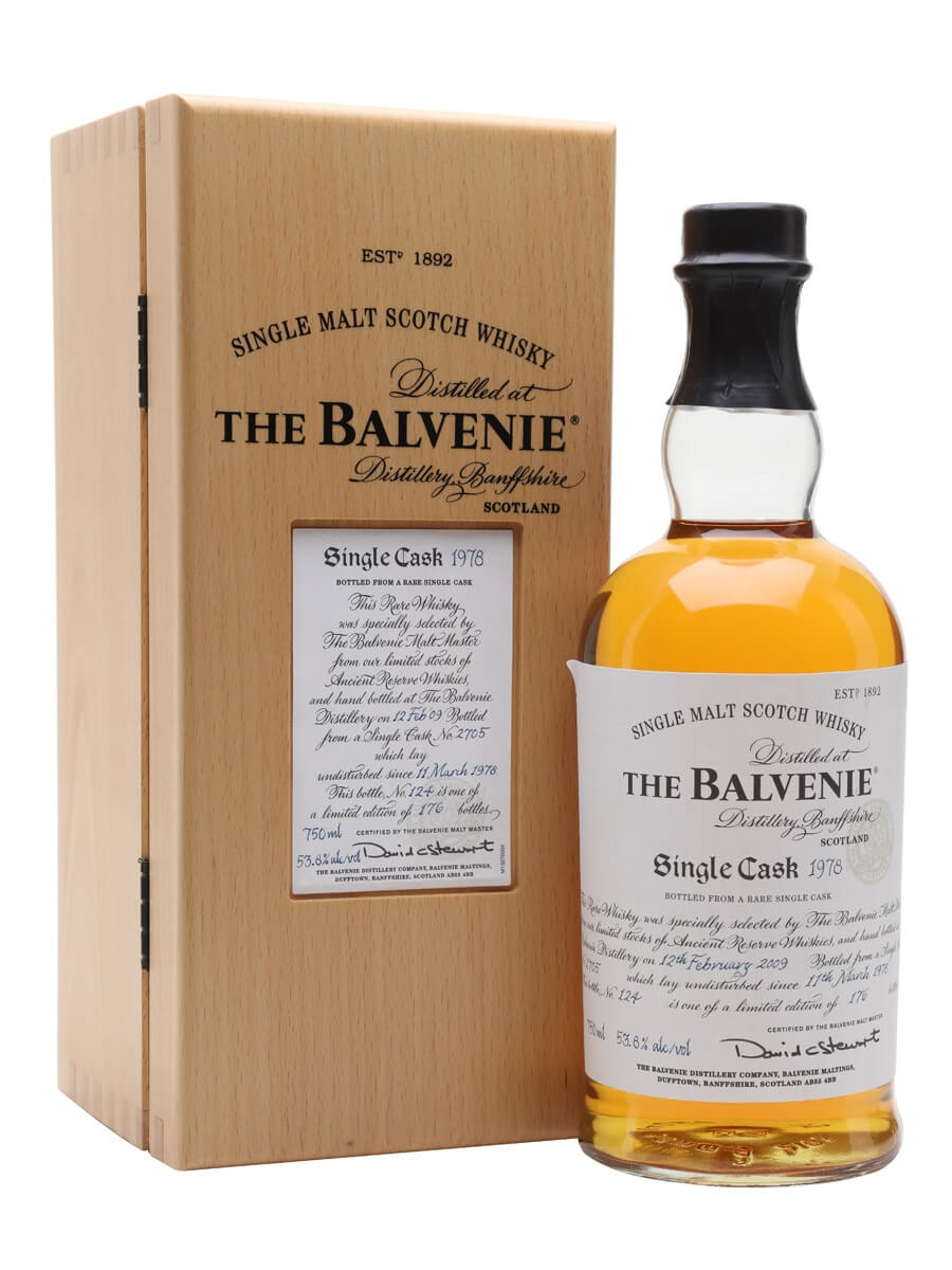Balvenie 1978 / 30 Year Old / Cask #2705