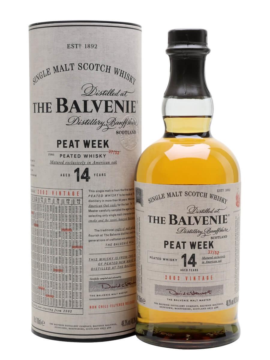 Balvenie 2002 Peat Week / 14 Year Old