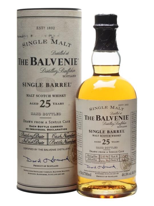 Balvenie 25 Y Single Barrel