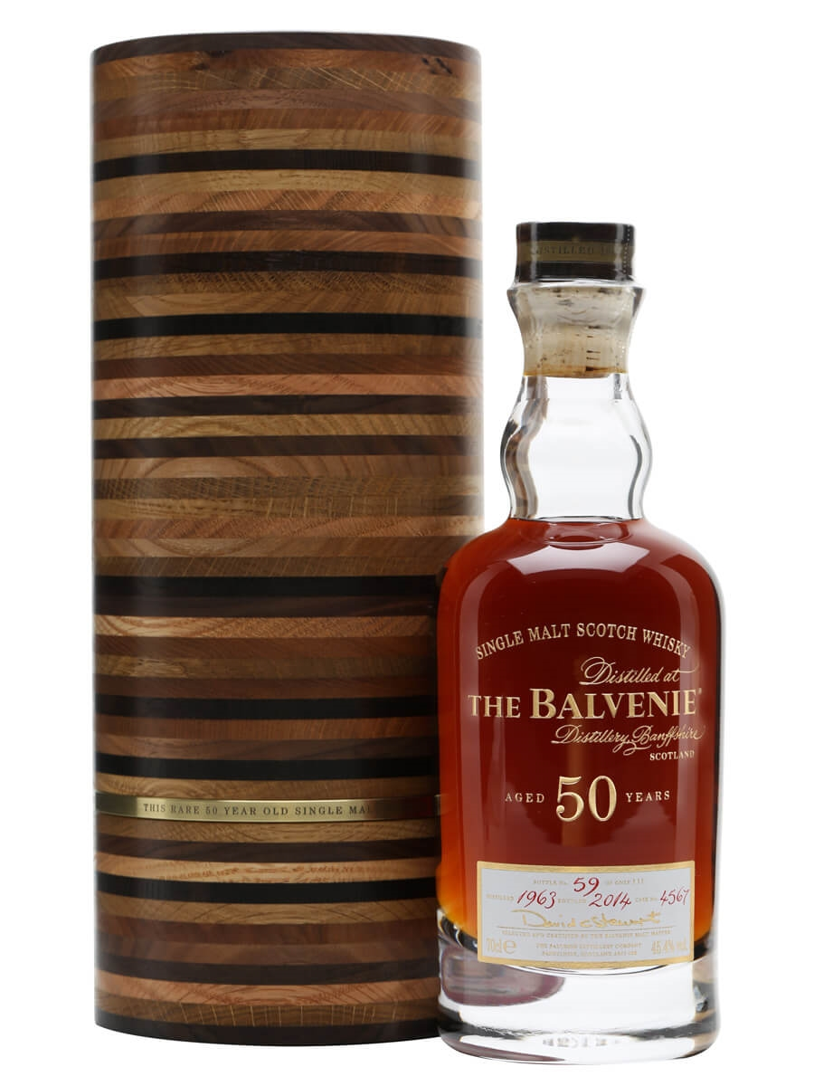 2568893c633 Balvenie 50 Year Old - Cask  4567 Scotch Whisky   The Whisky Exchange