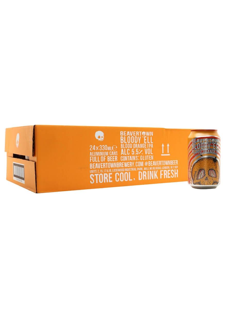 Beavertown Bloody 'Ell Blood Orange IPA / Case of 24 Cans