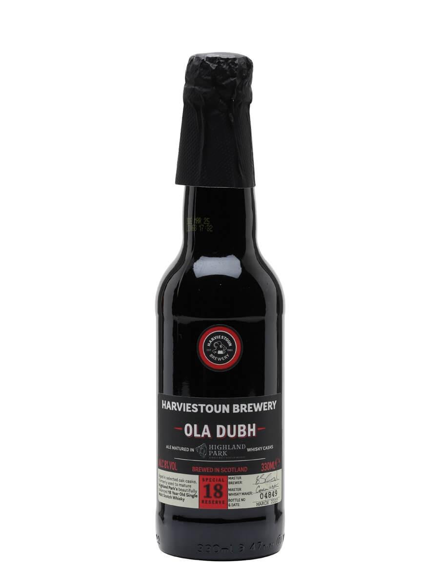 Harviestoun Ola Dubh 18 Beer