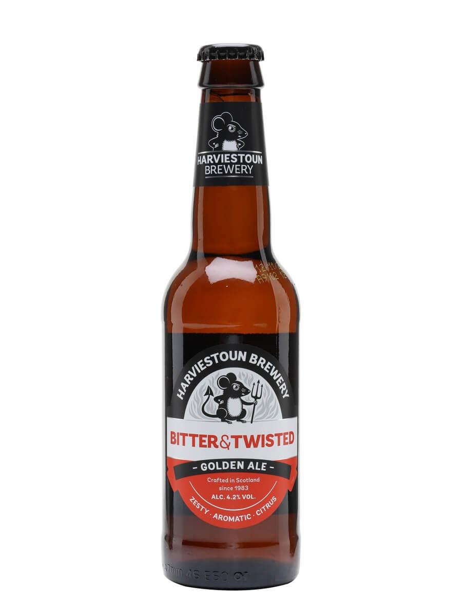 Harviestoun Bitter & Twisted Beer