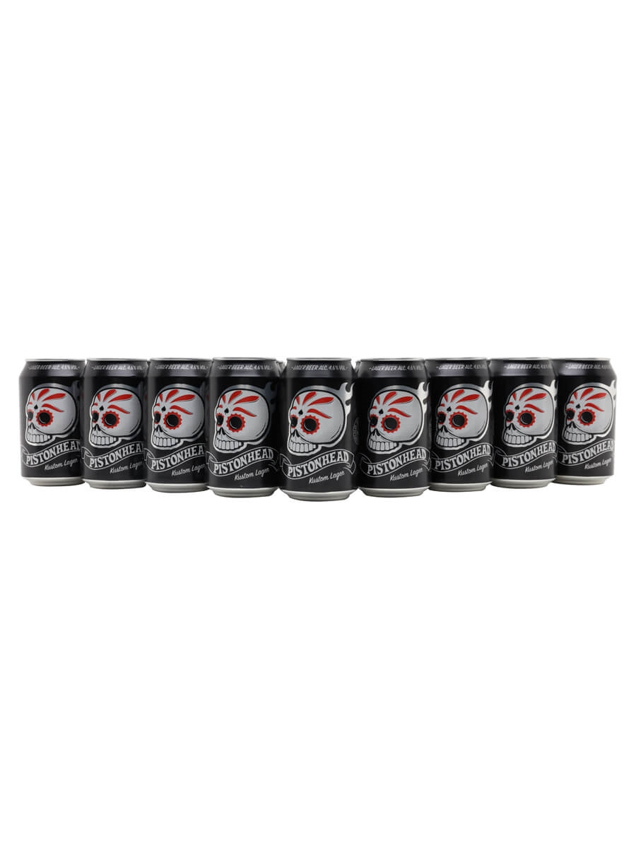 Pistonhead Kustom Lager / Case of 24 Cans