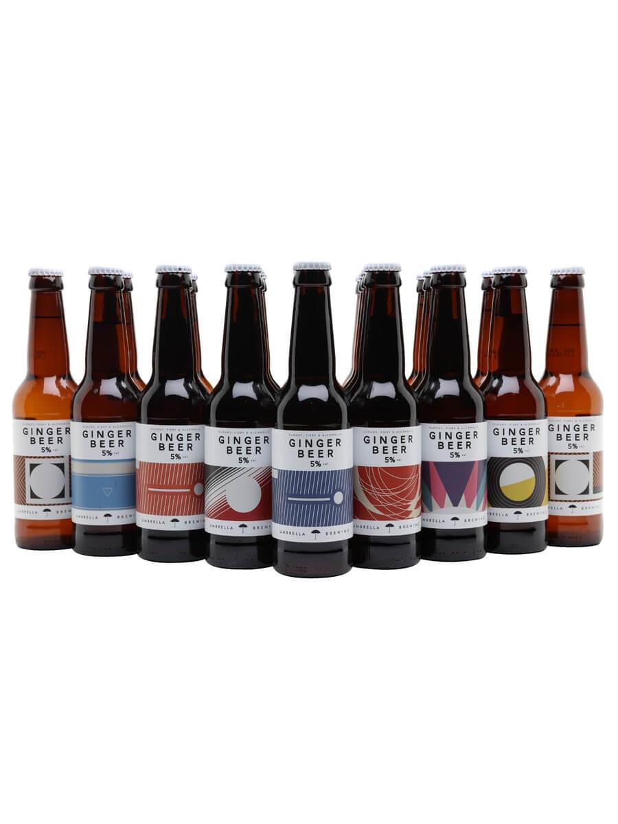 Umbrella Alcoholic Ginger Beer / Case of 24 Bottles
