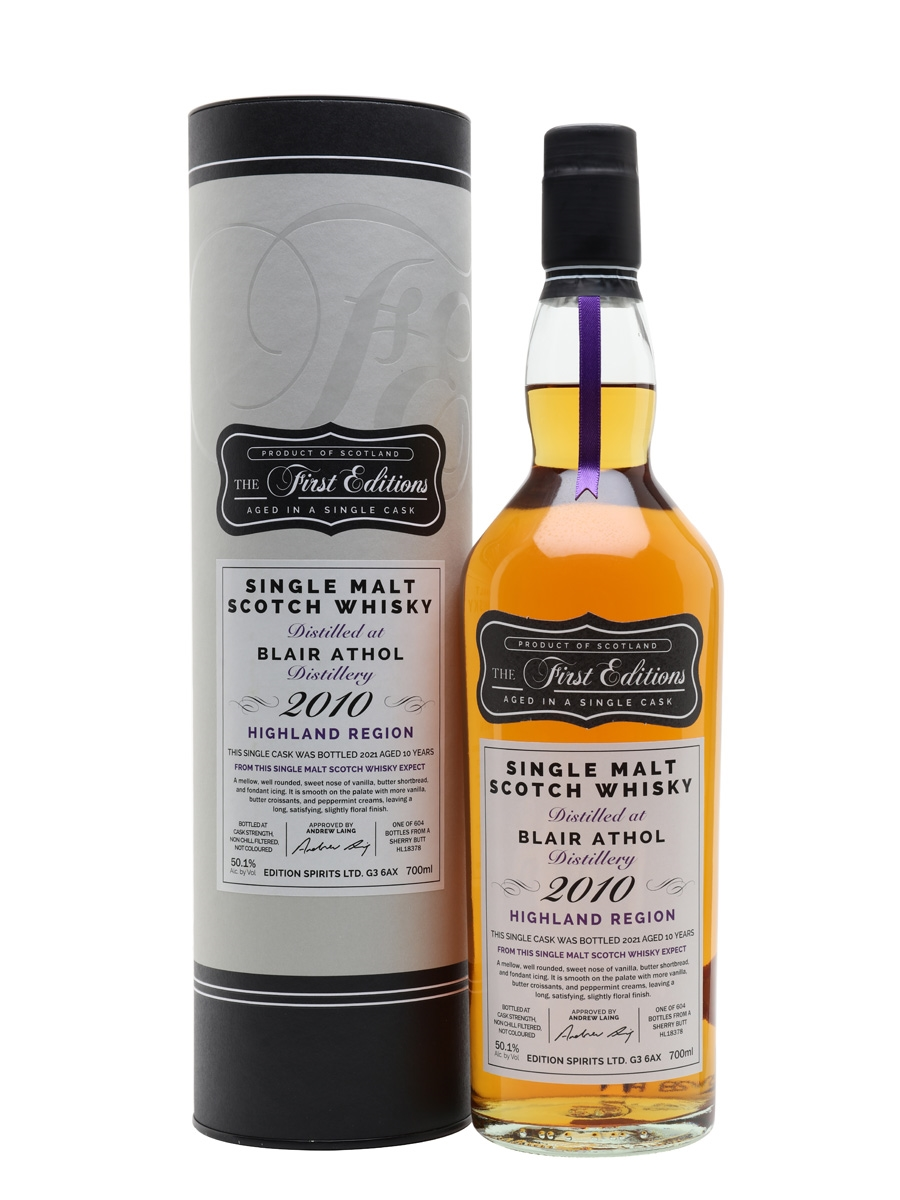 Blair Athol 2010 / 10 Year Old / First Editions
