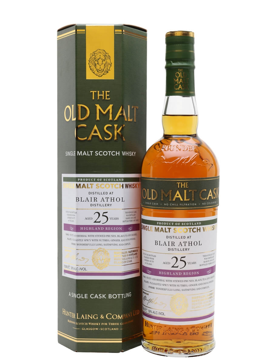 Blair Athol 1995 / 25 Year Old / Sherry Cask / Old Malt Cask