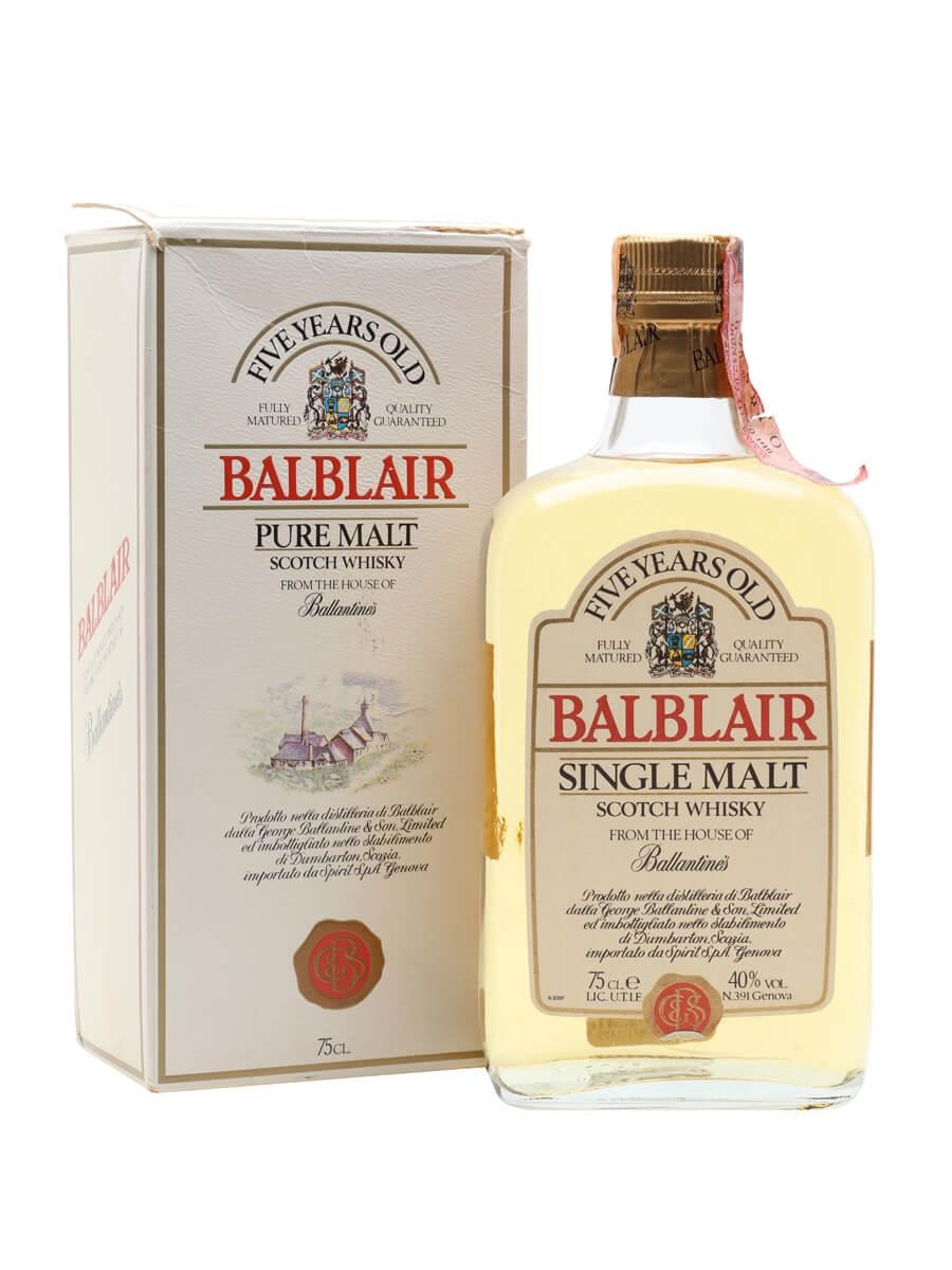 Balblair 5 Year Old / Bot.1980s