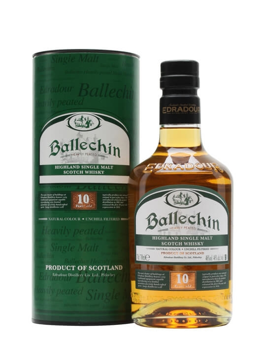 Review No.196. Ballechin 10 Year Old