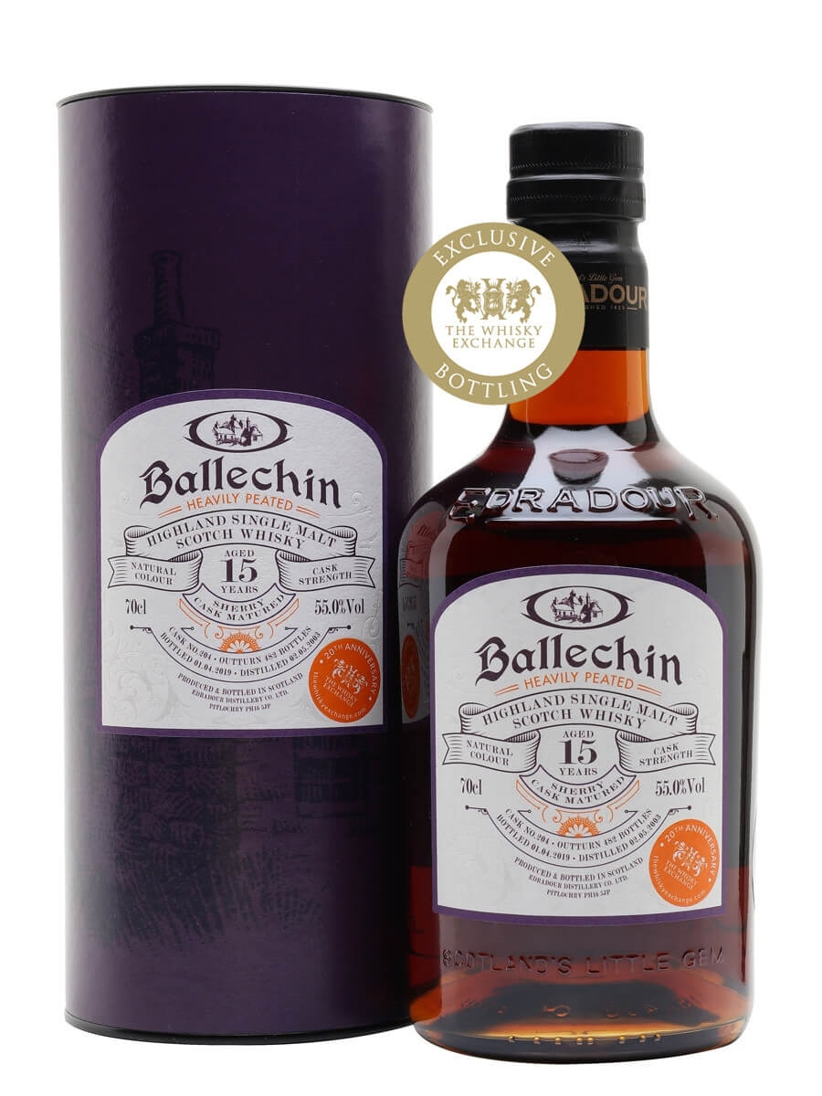 Ballechin 2003 / 15 Year Old / Sherry Cask for TWE