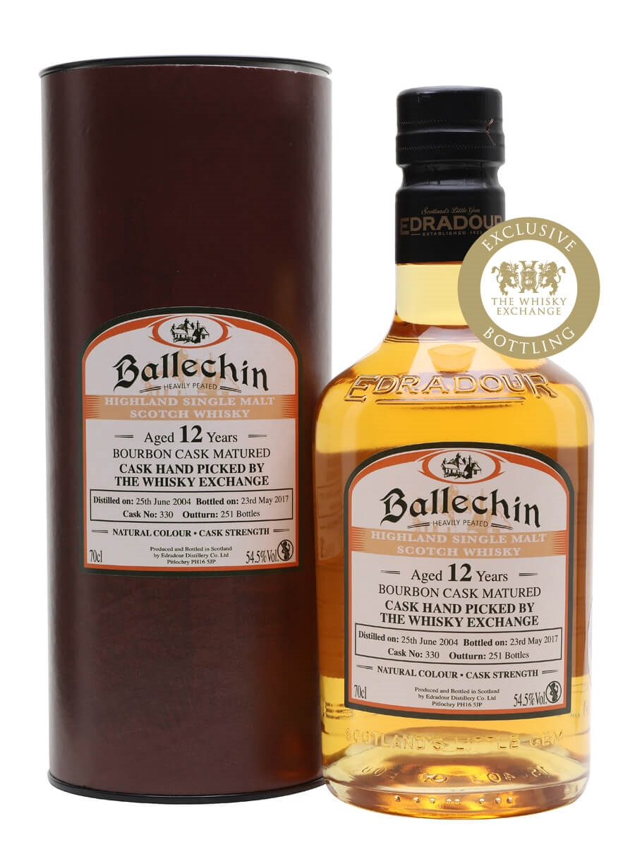 Ballechin 2004 / 12 Year Old / Heavily Peated / TWE Exclusive