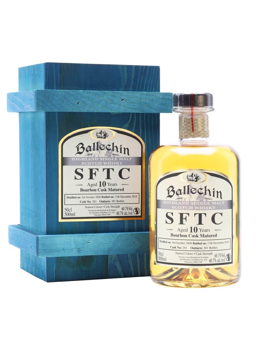 Ballechin 2008 / 10 Year Old / Bourbon Cask