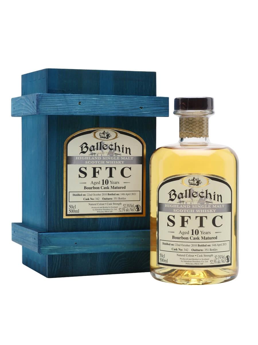 Ballechin 2010 / 10 Year Old / Bourbon Cask