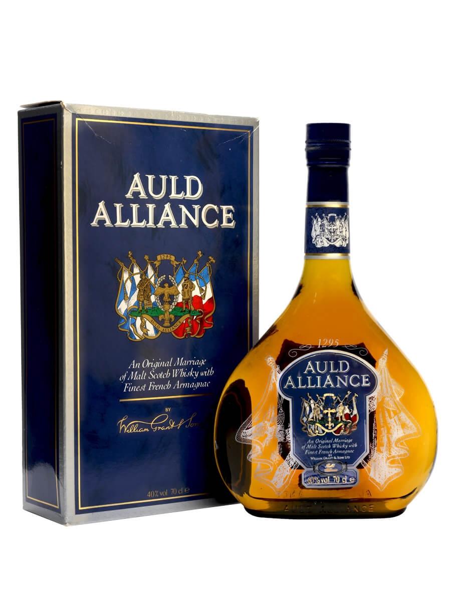 Auld Alliance Whisky Armagnac Blend