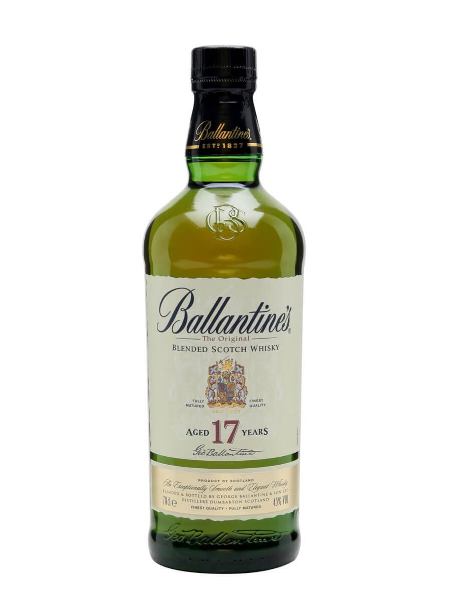 Kết quả hình ảnh cho BALLANTINE'S 17