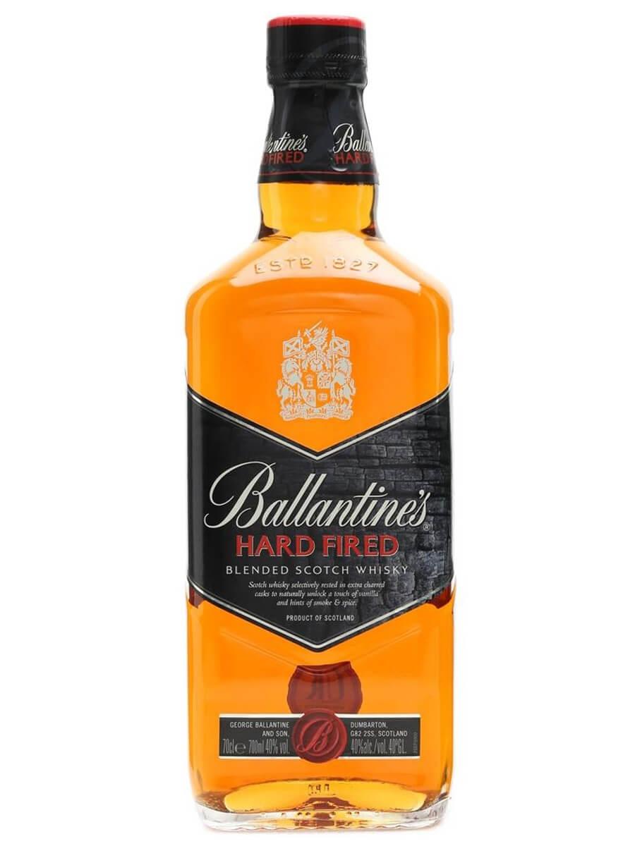 Výsledok vyhľadávania obrázkov pre dopyt BALLANTINE'S HARD FIRED