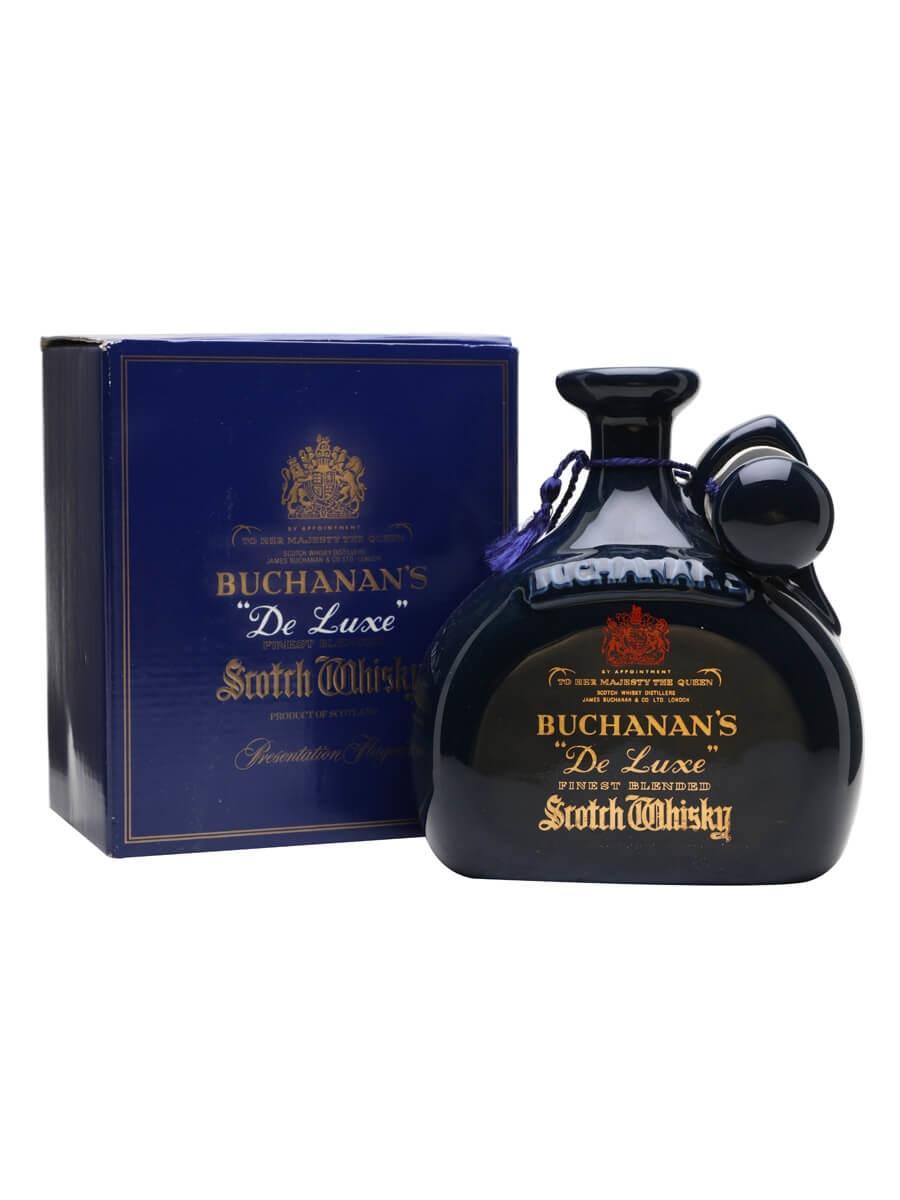 Buchanan S Deluxe Bot 1980s The Whisky Exchange