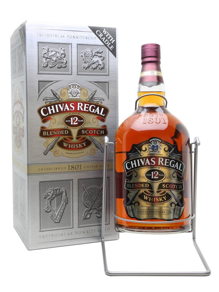 Chivas regal 12 year old large bottle the whisky exchange - Chivas regal 18 1 liter price ...