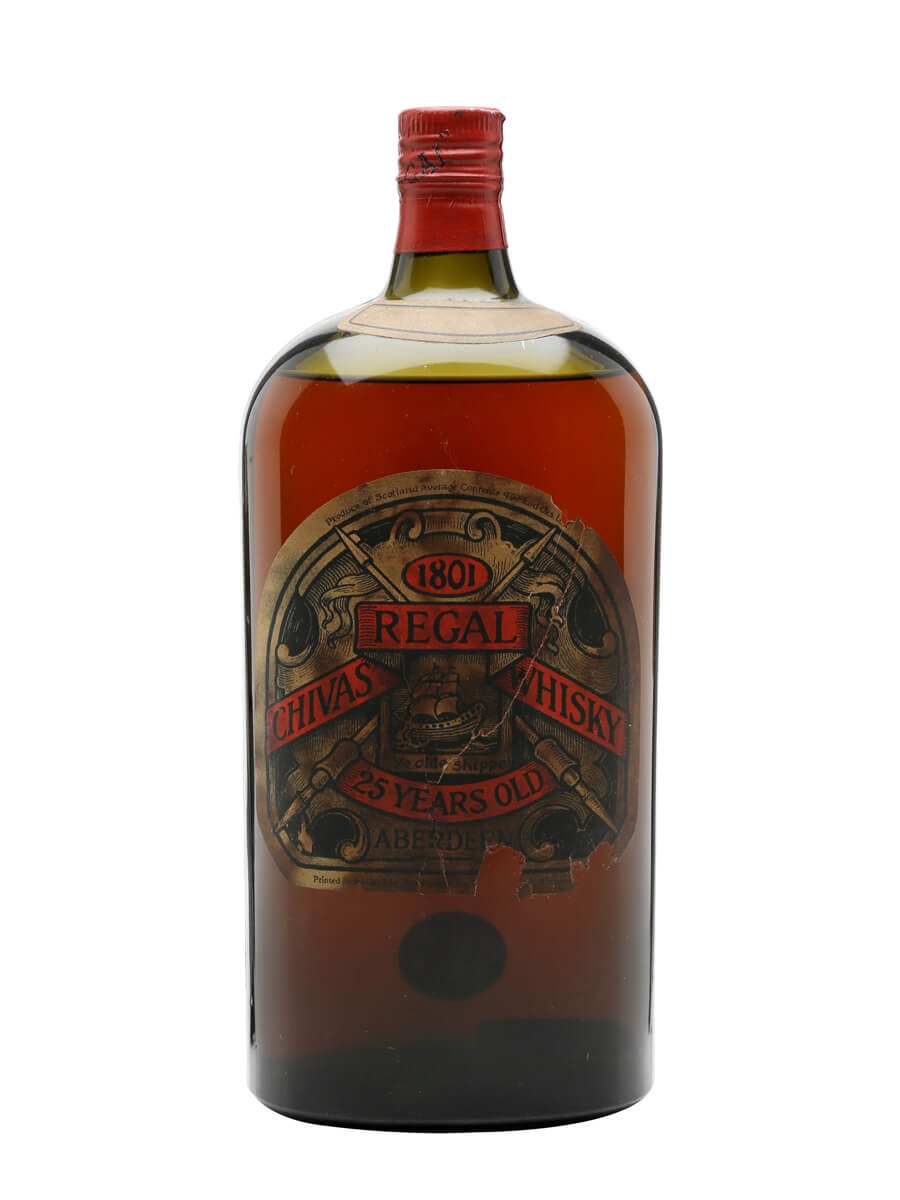 bfb08ec893f Chivas Regal 25 Year Old Bot.1930s George V. 113cl / 43%. Blended Scotch  Whisky