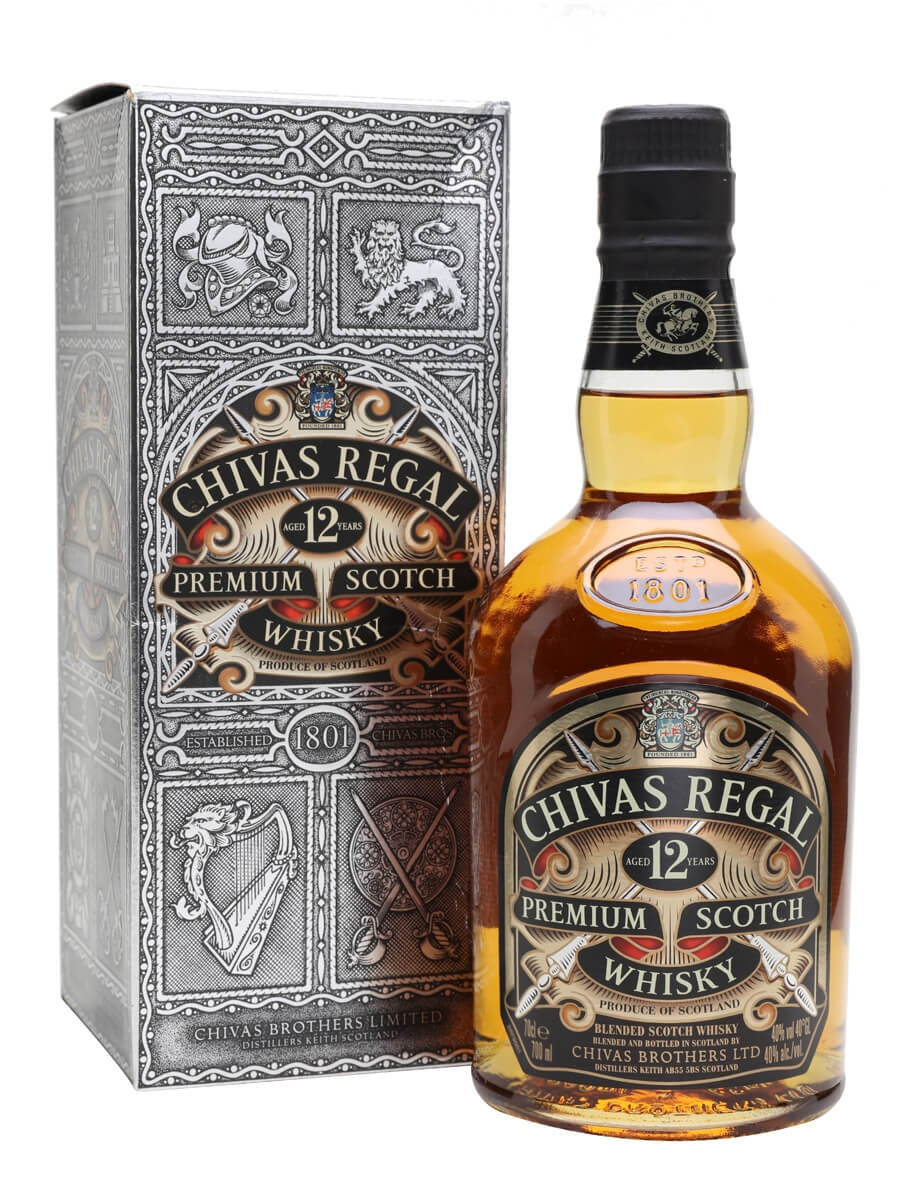 chivas regal 12 year old old presentation the whisky