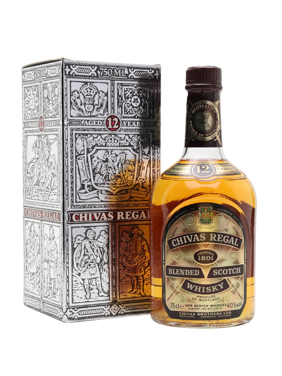 32303152910 Chivas Regal 12 Year Old - Bot.1980s : The Whisky Exchange