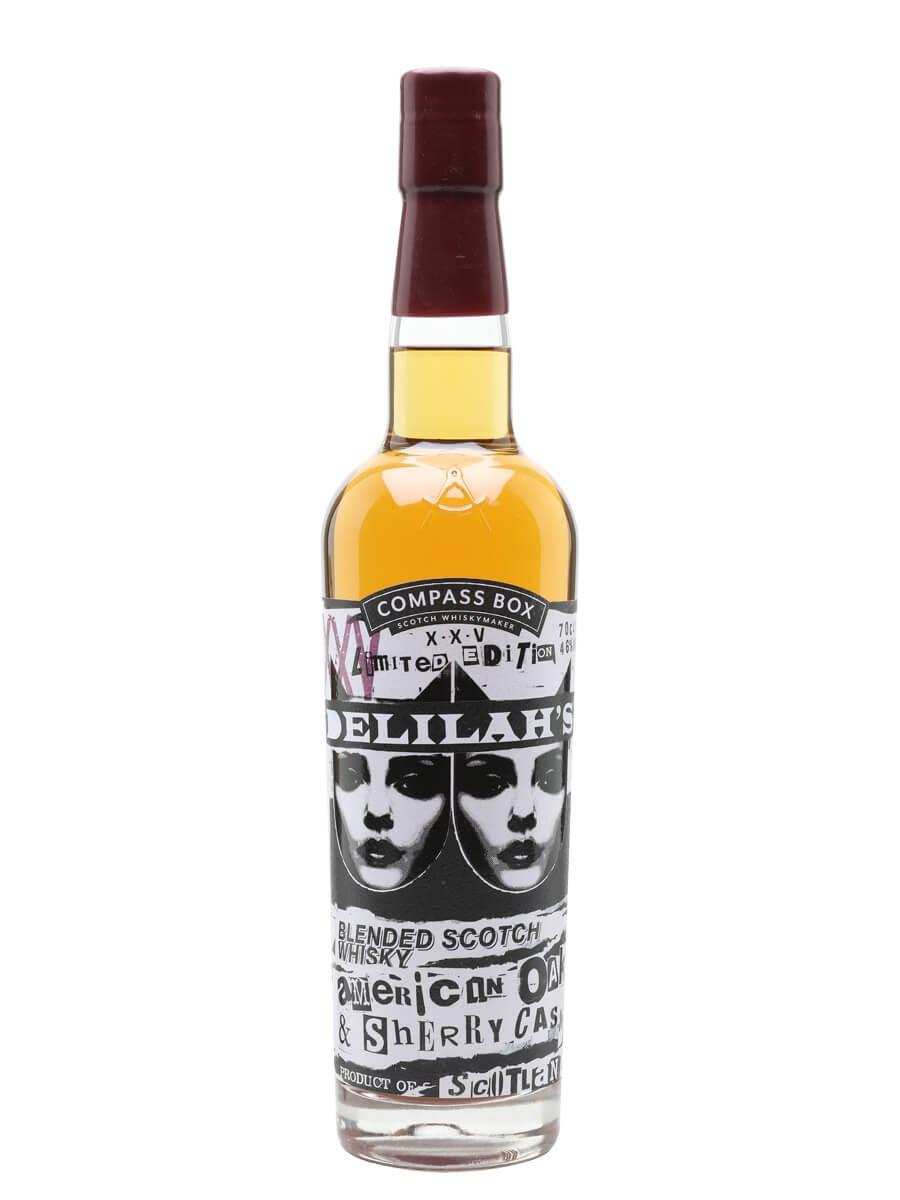 Compass Box Delilah's XXV Blended Scotch Whisky