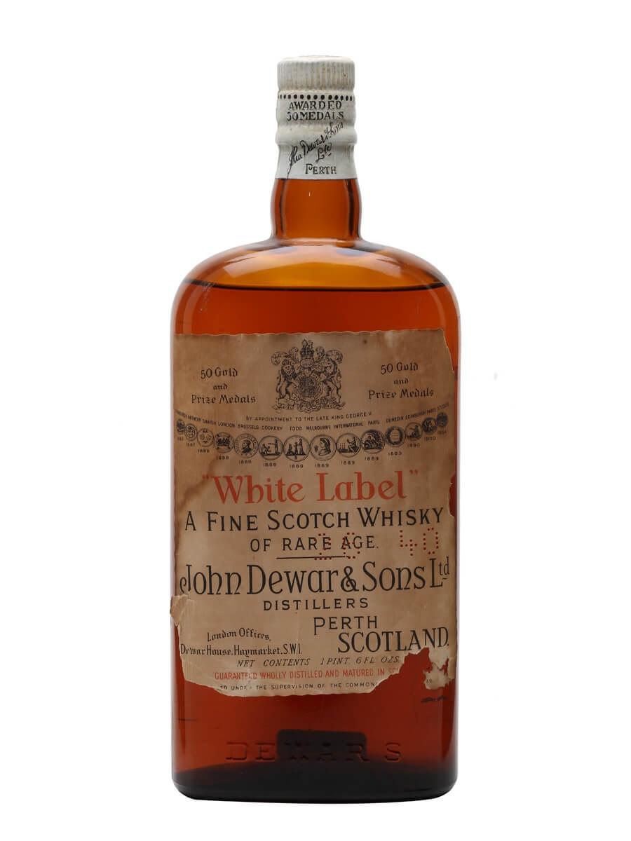 Dewar's White Label / Bot.1940