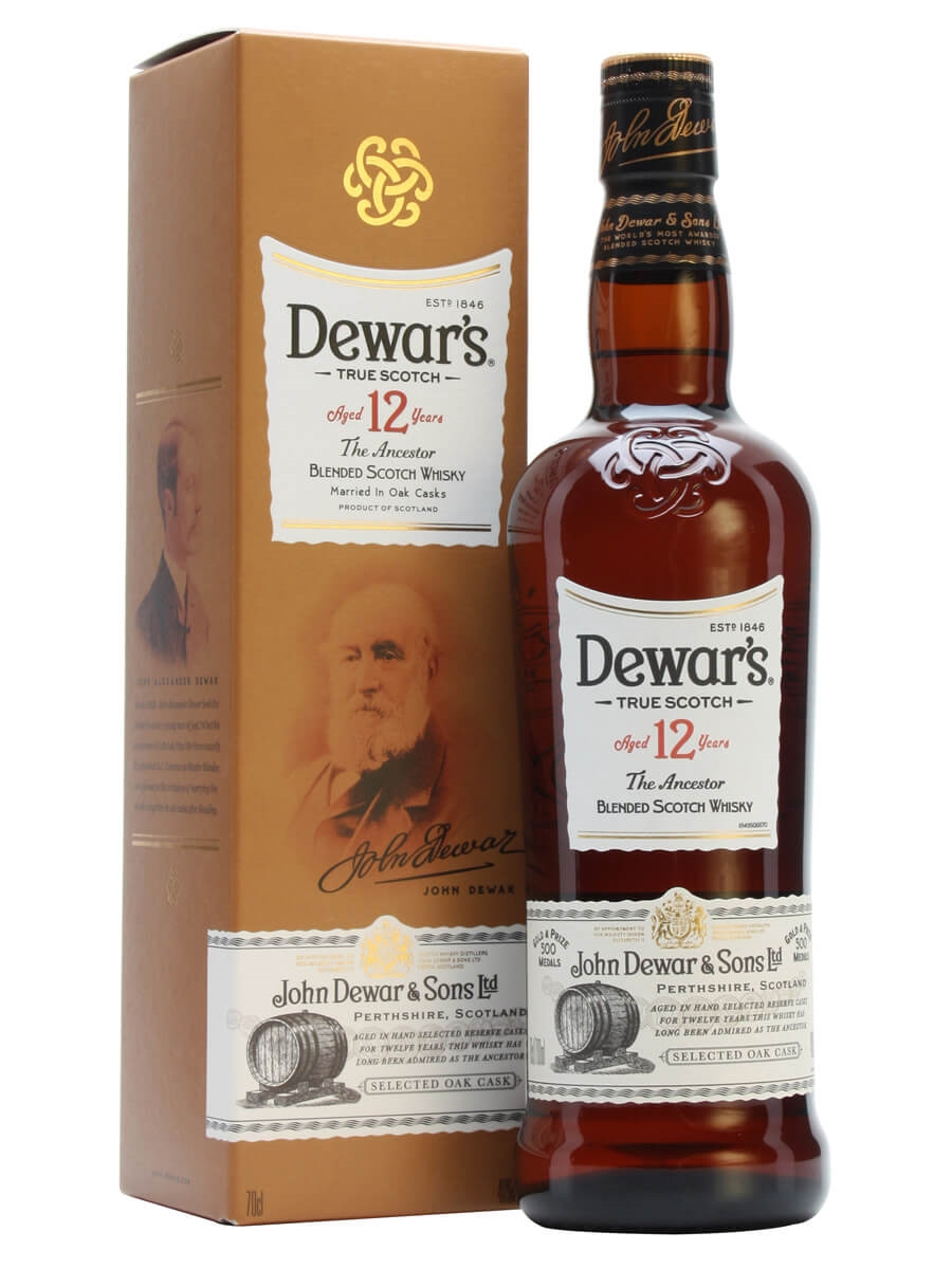 Dewar S 12 Year Old The Ancestor Double Aged The