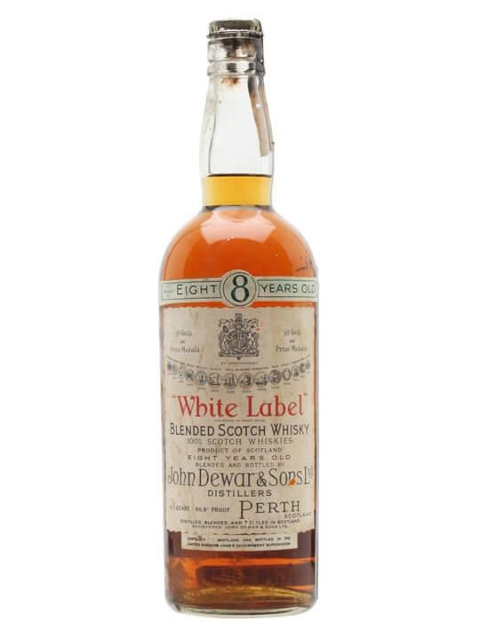 Dewar's White Label / 8 Year Old / Bot.1940s