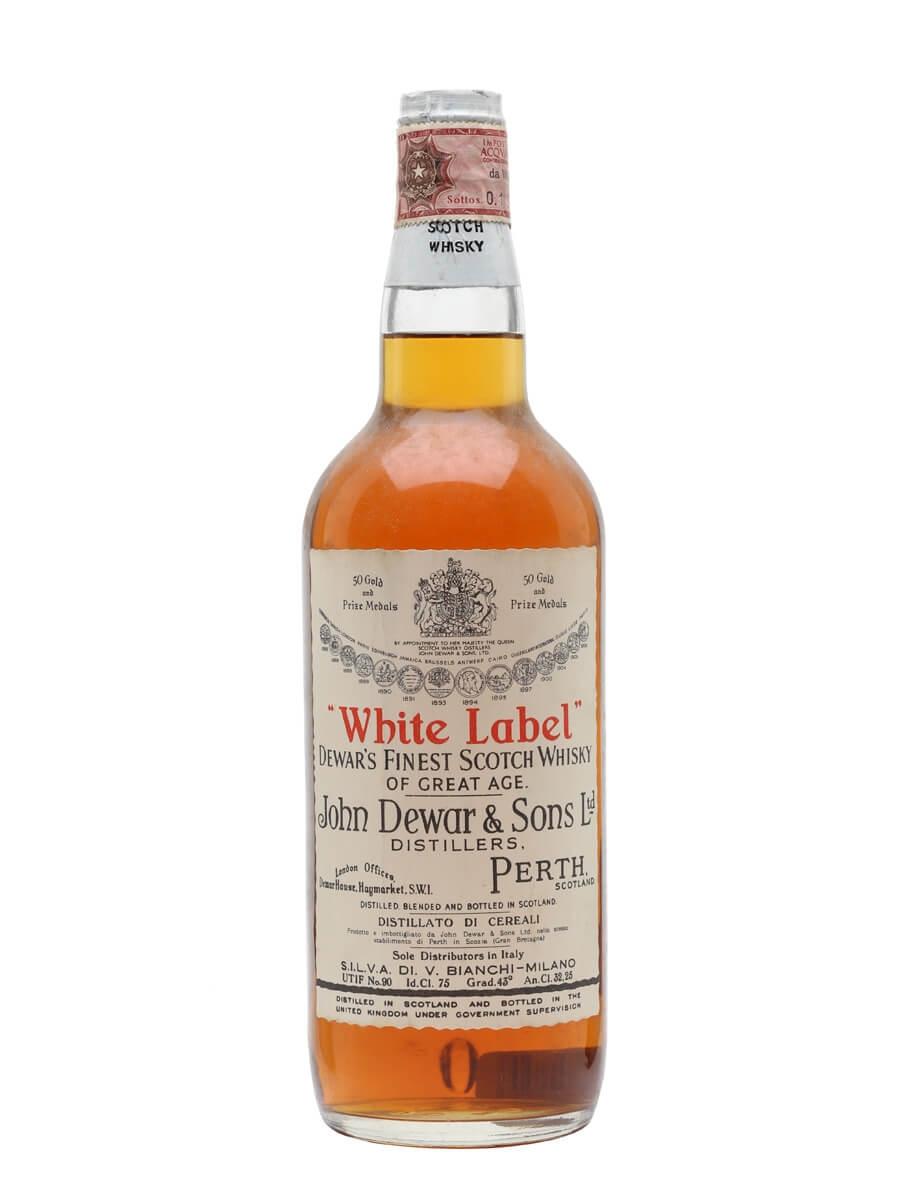 Dewar's White Label / Bot.1950s