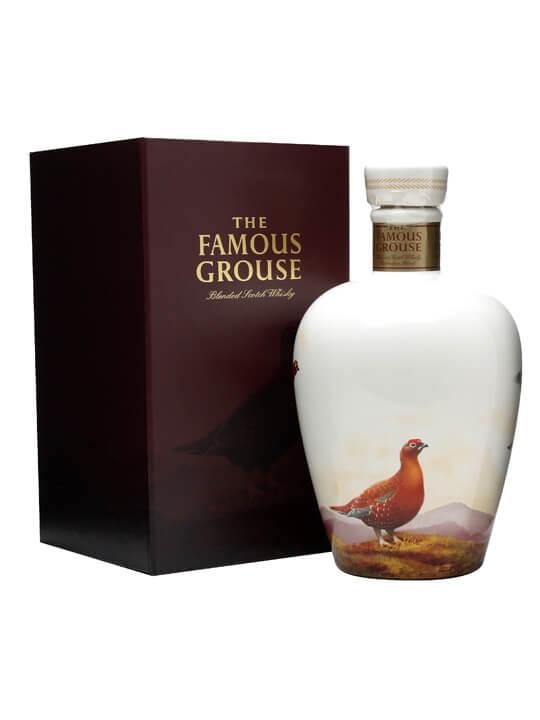 Famous Grouse Celebration Blend Ceramic Wade Decanter