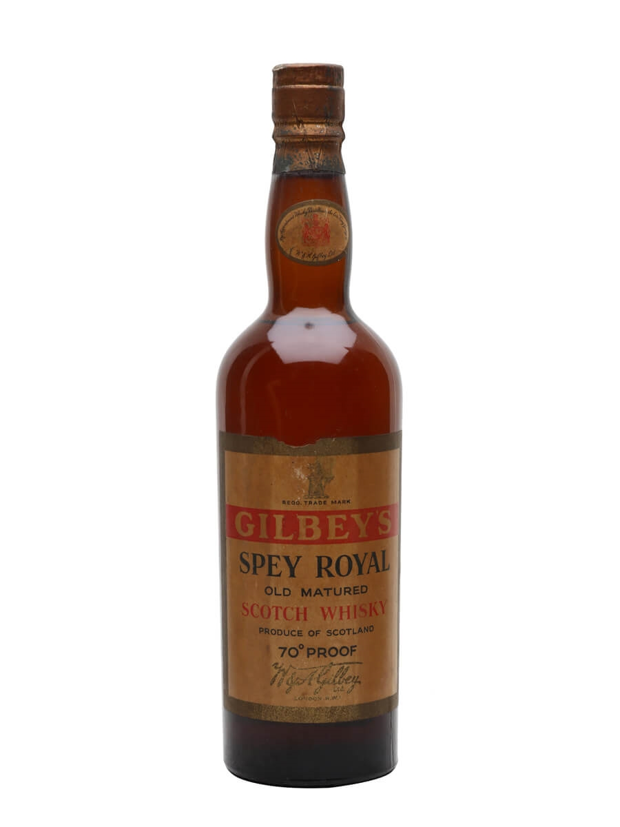 Gilbey's Spey Royal / Bot.1950s
