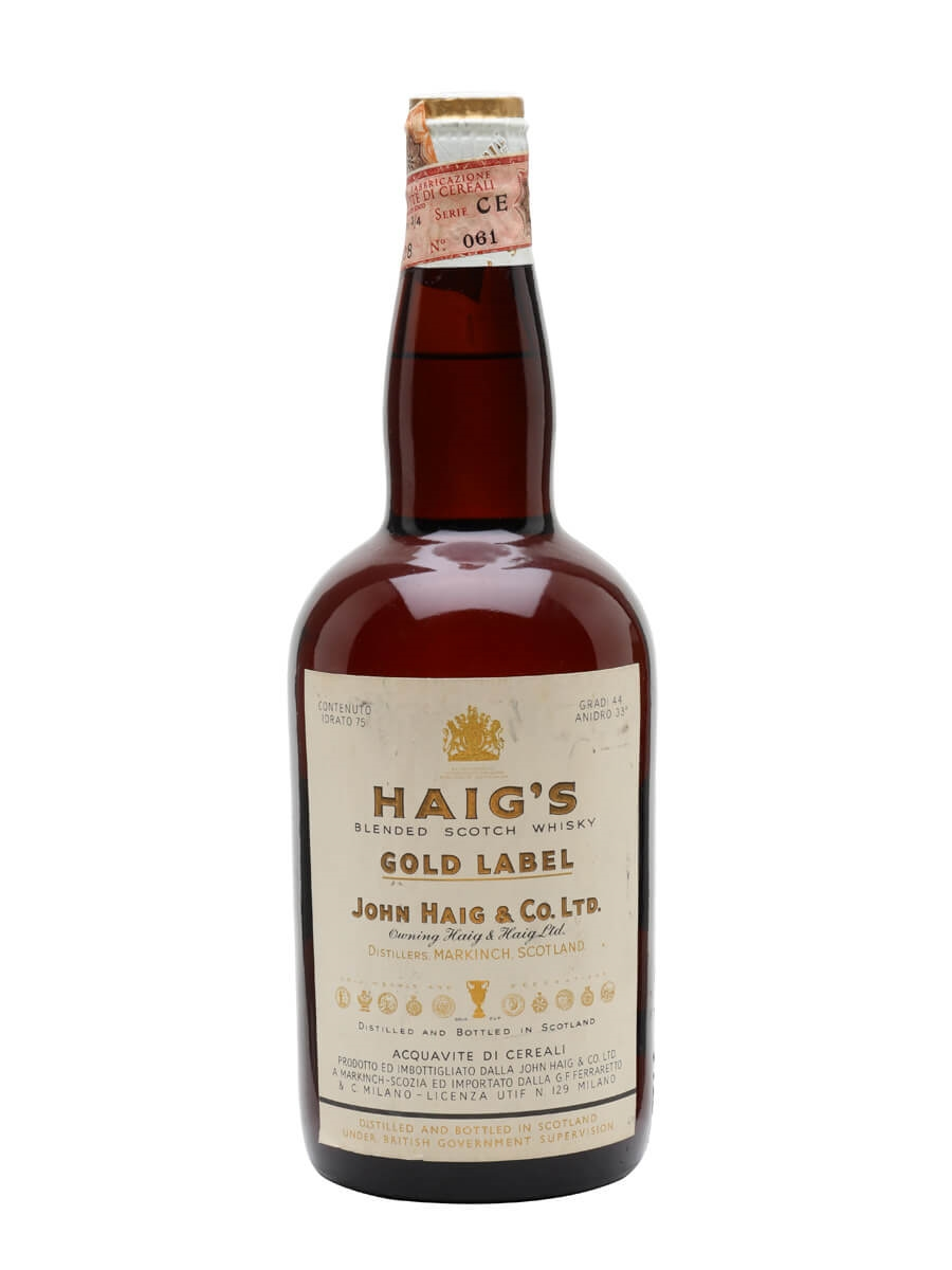It's just a photo of Adaptable Haig Gold Label Original Blended Scotch Whisky