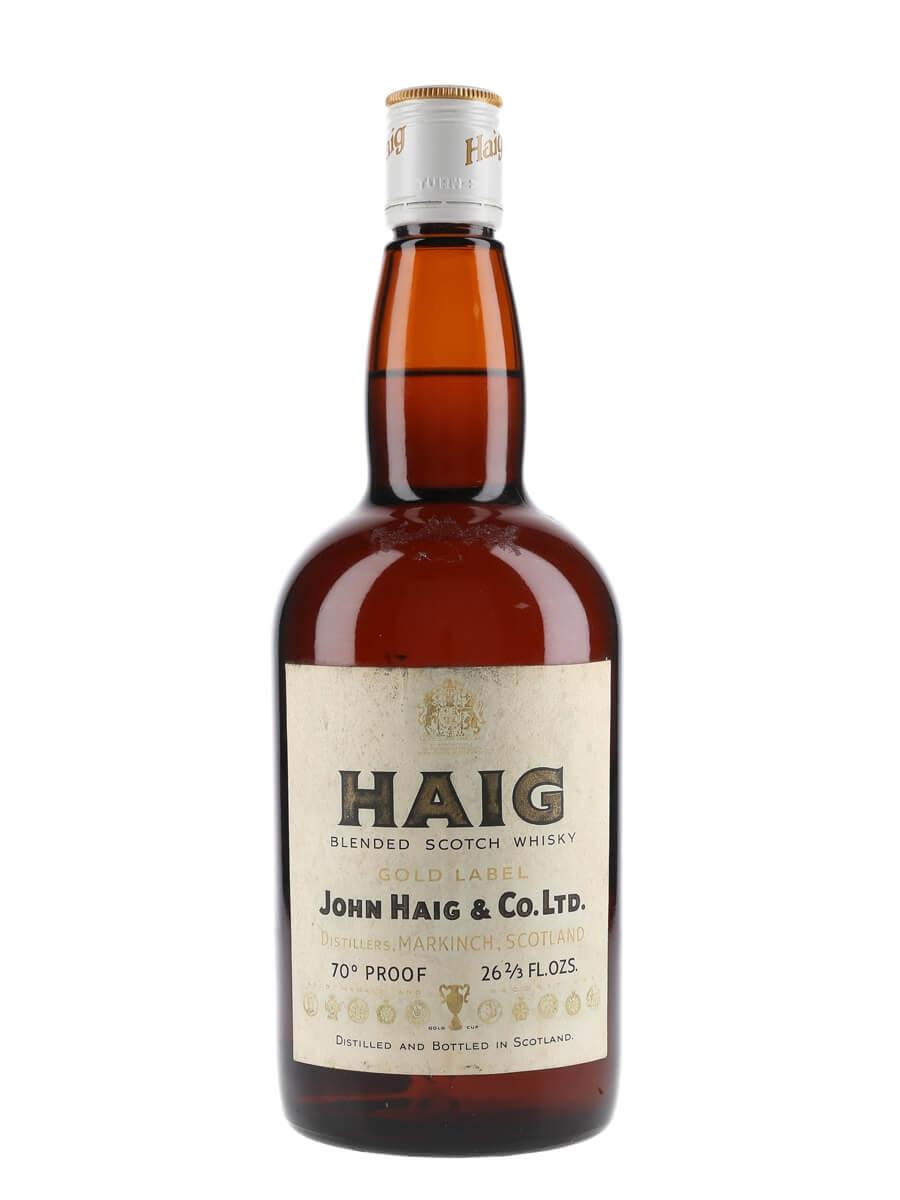 Haig Gold Label / Bot.1970s
