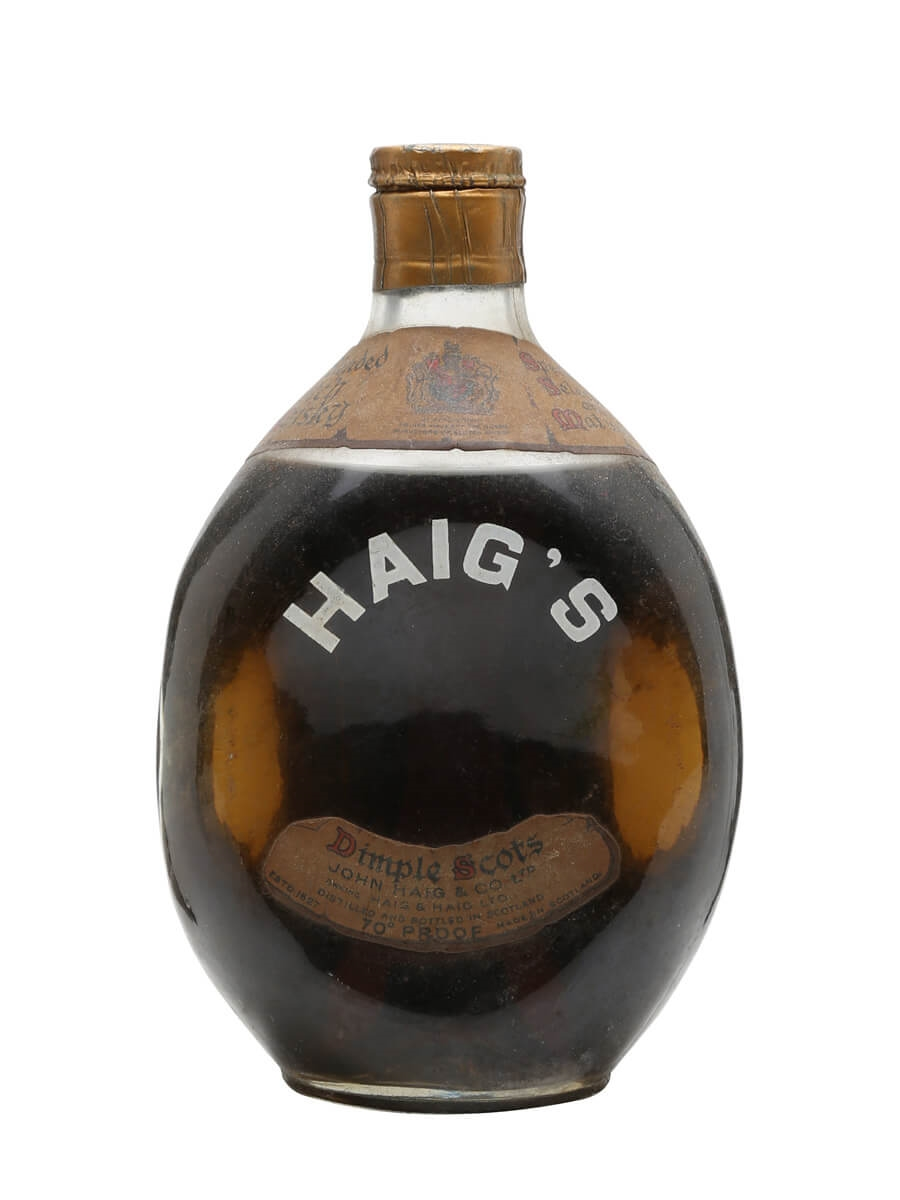 Haig's Dimple / Bot.1950s / Spring Cap