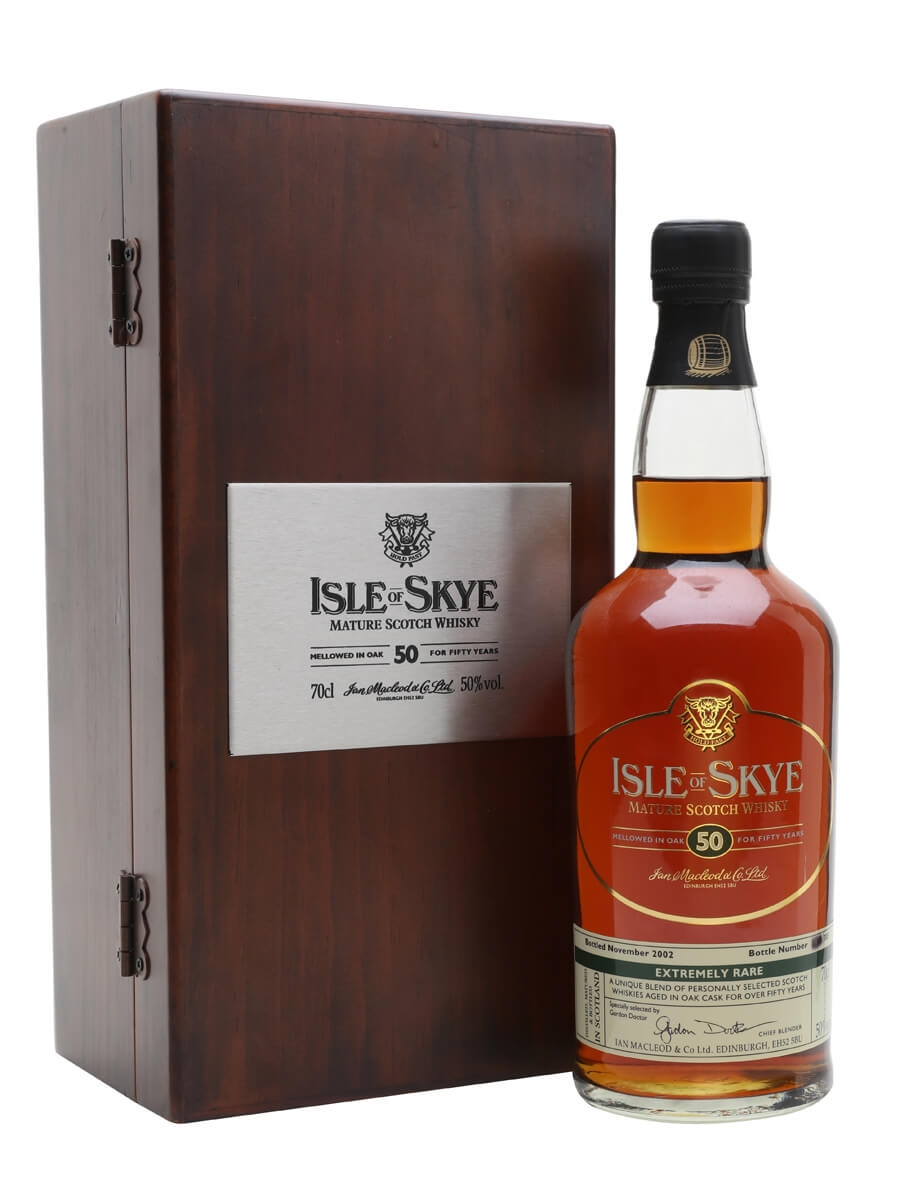 50 Year Old Whiskey >> Isle Of Skye 50 Year Old