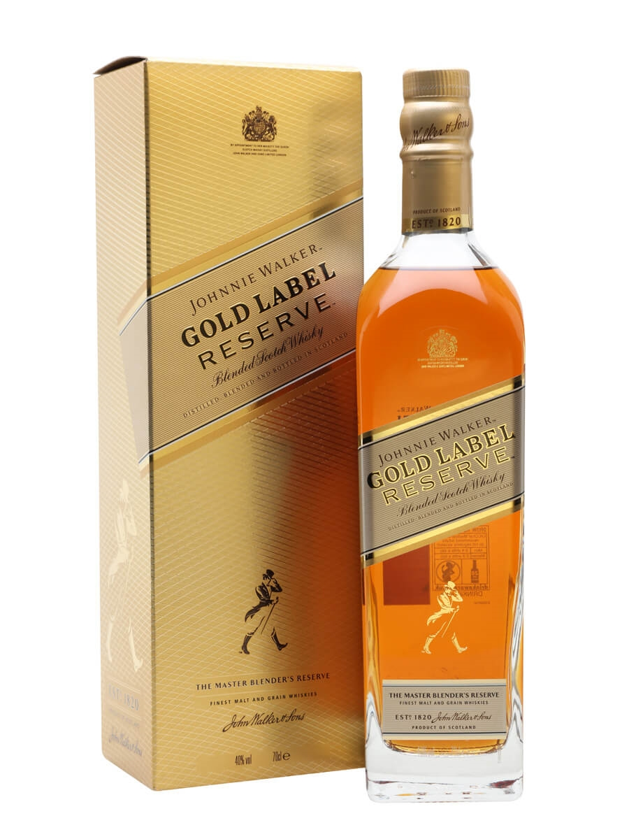 johnnie walker gold label reserve the whisky exchange. Black Bedroom Furniture Sets. Home Design Ideas