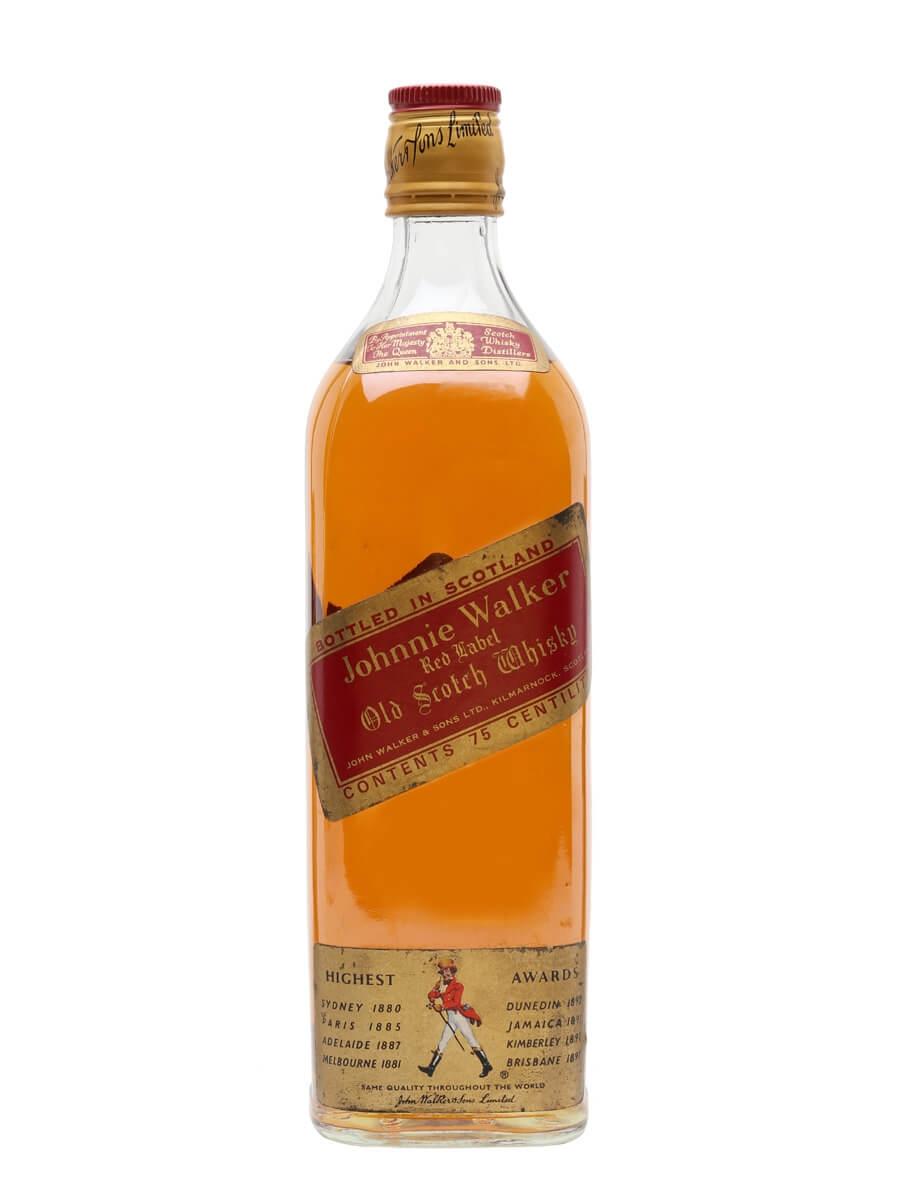 Johnnie Walker Red Label / Bot.1980s
