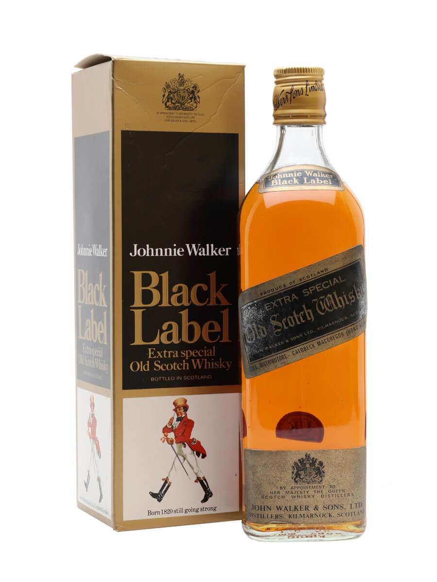 Johnnie Walker Black Label / Bot.1970s