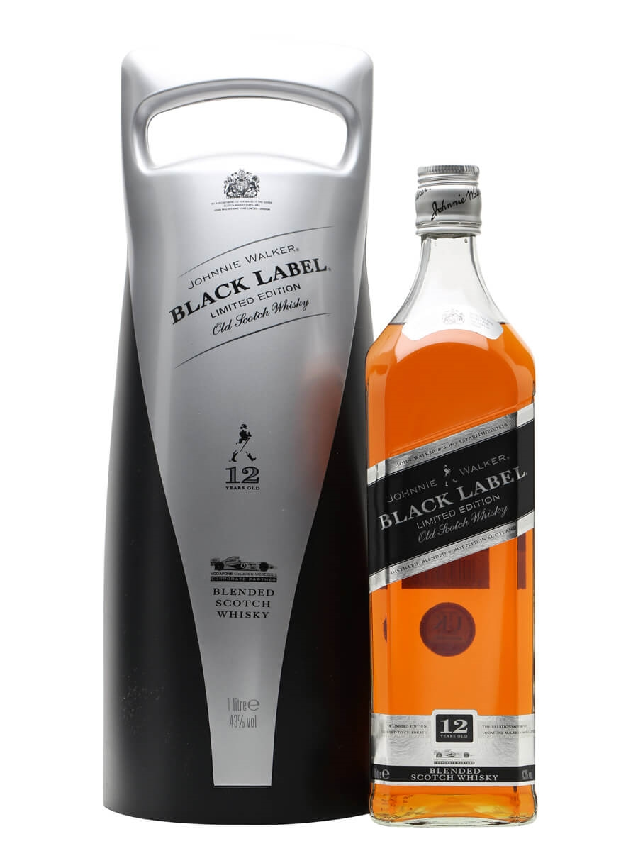 Johnnie Walker Black Label 12 Year Old F1 Edition The