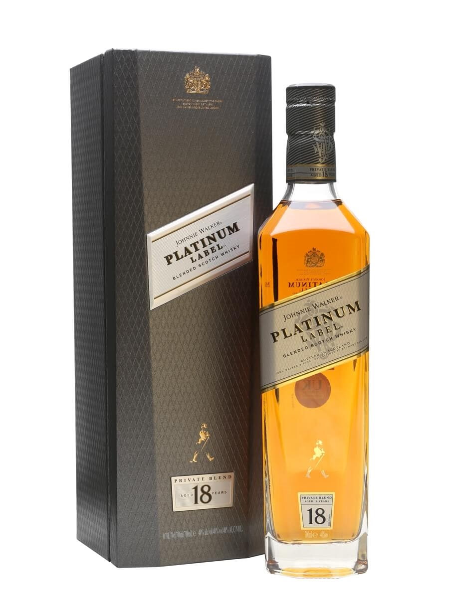 Johnnie Walker Platinum Label 18 Year Old : The Whisky