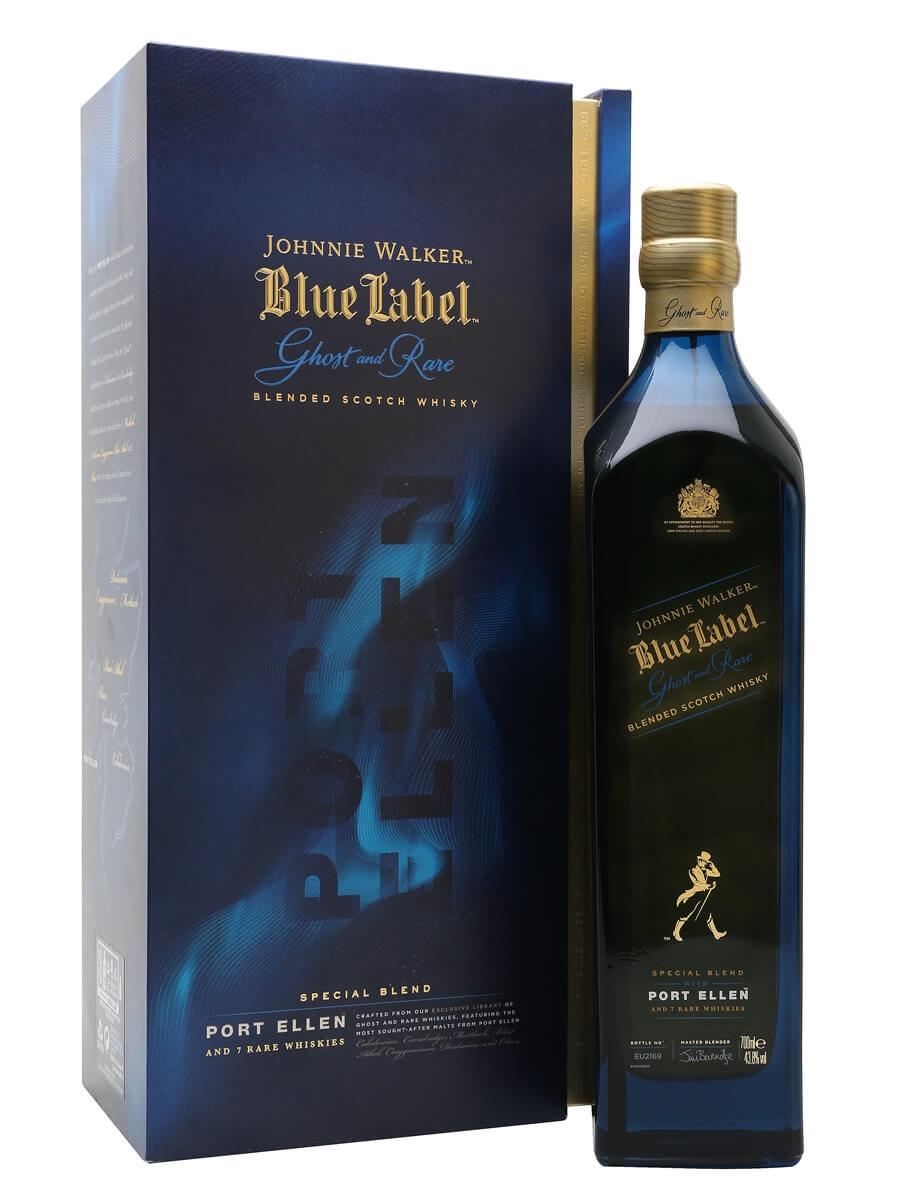 Johnnie Walker Blue Label Ghost and Rare / Port Ellen