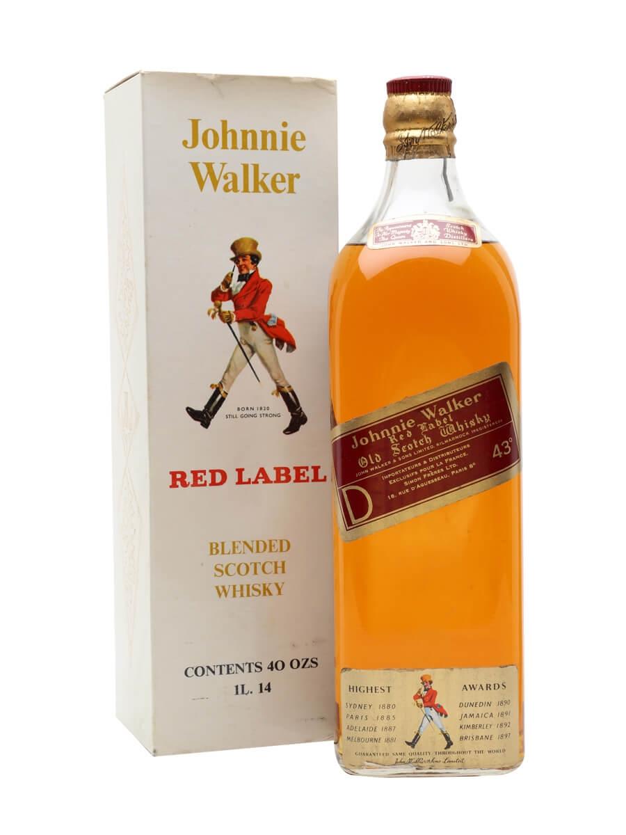 Johnnie Walker Red Label / Bot.1960s