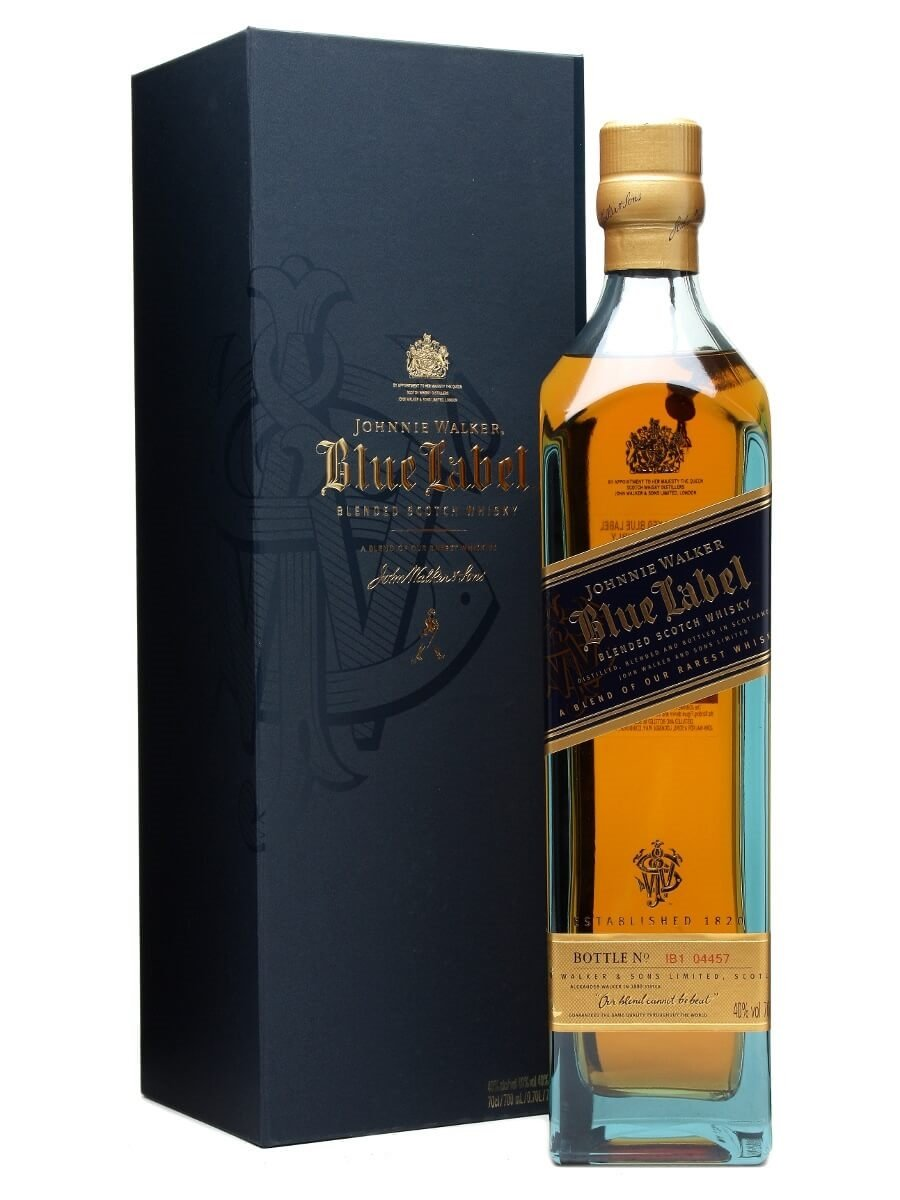 johnnie walker blue label the whisky exchange. Black Bedroom Furniture Sets. Home Design Ideas