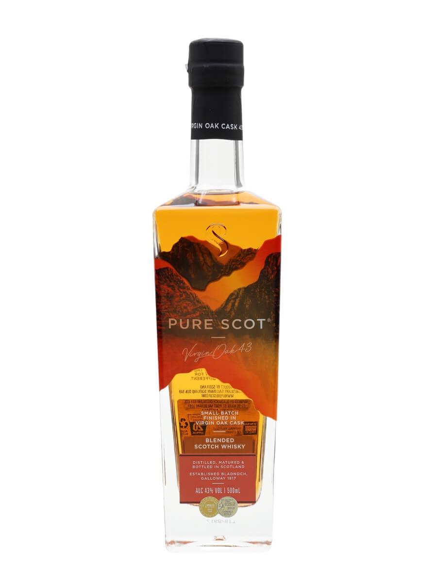 Pure Scot Virgin Oak 43 Blended Whisky